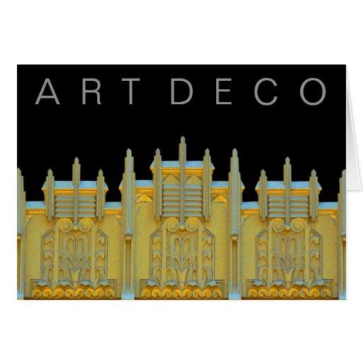 Deco-Tarjeta del arte