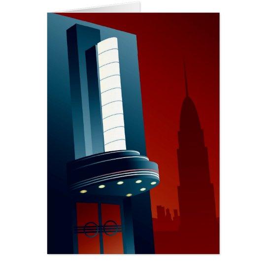 Deco Theatre Card