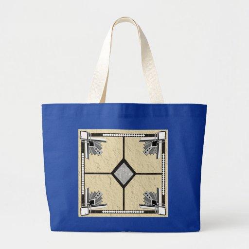 deco tile canvas bags