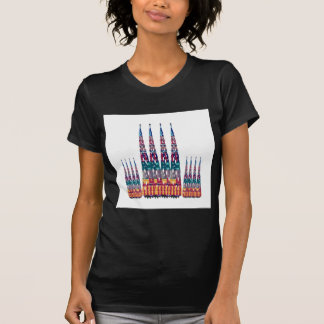 Deco Tower Graphic Girl Fashion Diva Games NVN691 Tees