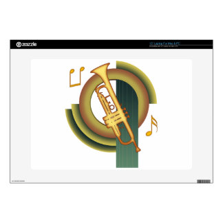 Deco Trumpet Decals For Laptops