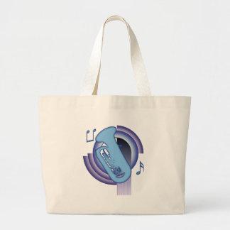 Deco Tuba Large Tote Bag