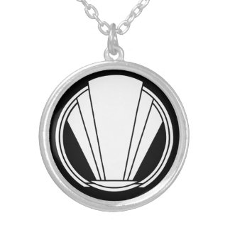 Deco - Untitled Silver Plated Necklace