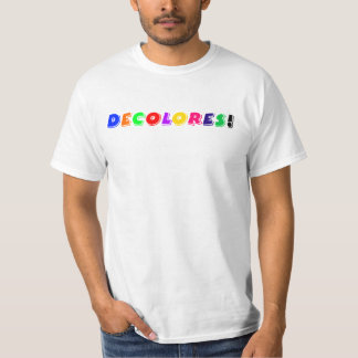 ¡DeColores! Camiseta Remeras