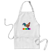 DeColores Rooster Adult Apron