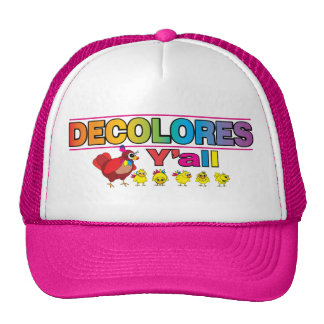 DECOLORES usted Gorra