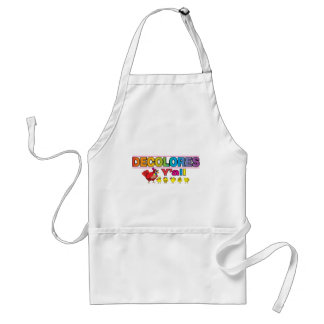 DECOLORES Yall Aprons