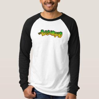 Decomposed Long Sleeve Raglan T-Shirt