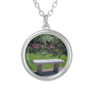 Decompression Session Silver Plated Necklace
