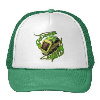 decon mask trucker hat