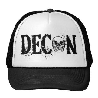 DECON trucker hat