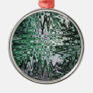 Deconstructed Alder Art Metal Ornament