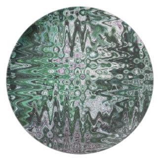 Deconstructed Alder Art Plate