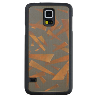Deconstructed Sphere 2005 Carved Maple Galaxy S5 Slim Case