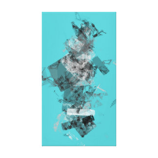 Deconstructing Geometry Canvas Print
