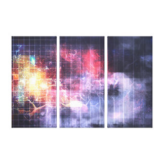 Deconstructing Reality Canvas Print
