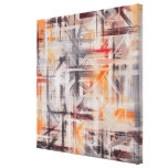 Decor Painted Abstract Background Canvas Print
