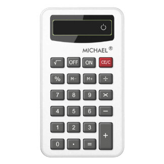 Decor Your Power Bank with Funny Calculator Look