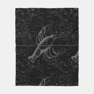 Decoración 1690 de Hevelius de la constelación del Manta De Forro Polar