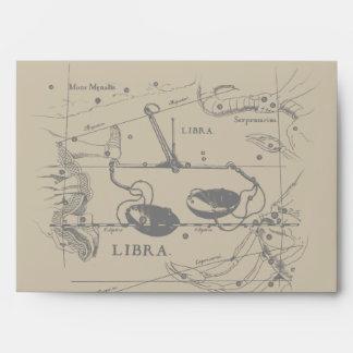 Decoración 1690 de Hevelius de la constelación del Sobre