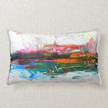 decoración abstracta de la almohada