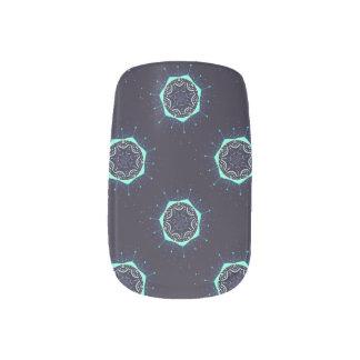 Decoración abstracta del clavo pegatina para uñas