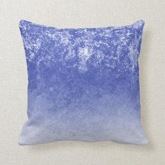 Decoración azul bonita del tiro del hogar de la cojín