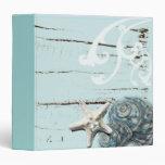 Decoración azul elegante romántica de la playa del