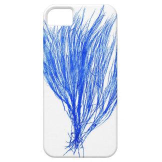 Decoración botánica costera de no. 2 azules de la  iPhone 5 carcasas