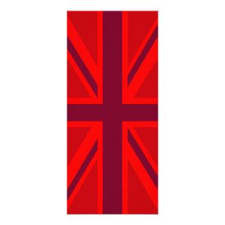 Decoración británica de Union Jack de la versión Tarjetas Publicitarias