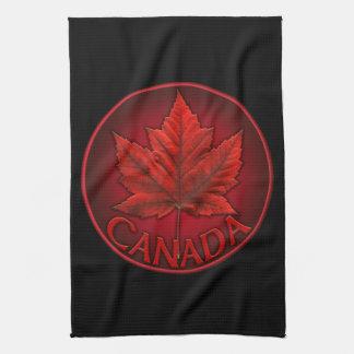 Decoración canadiense de la toalla de té de la toa