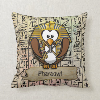Decoración casera de Pharaowl Cojín Decorativo