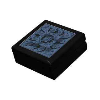 Decoración casera gótica - cajas de almacenamiento joyero cuadrado pequeño