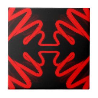 Decoración casera moderna de las flechas de neón r azulejo cuadrado pequeño