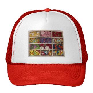 decoración colorida dulce gorras