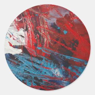 Decoración creativa del arte abstracto etiquetas