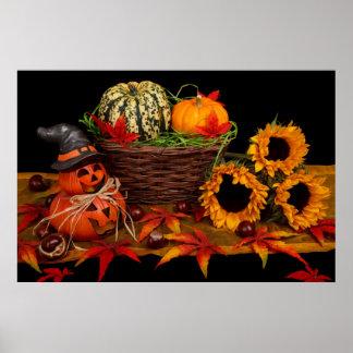 Decoración de Halloween Poster