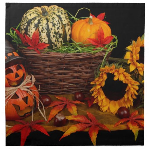 Decoración de Halloween Servilleta De Papel