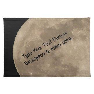 Decoración de la astronomía de la Luna Llena del p Mantel