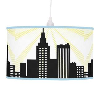 Decoración de la iluminación del cómic del dormito lámpara de techo
