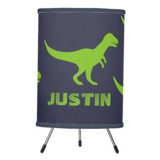 Decoración de la lámpara de mesa del dinosaurio