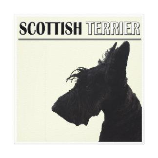 Decoración de la pared de Terrier del escocés