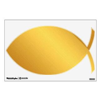Decoración de la pared del símbolo del oro vinilo decorativo