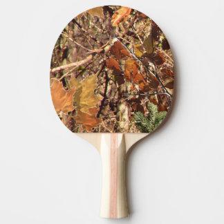 Decoración de la pintura del camuflaje del cazador pala de tenis de mesa