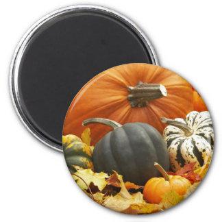 Decoración de octubre imán redondo 5 cm