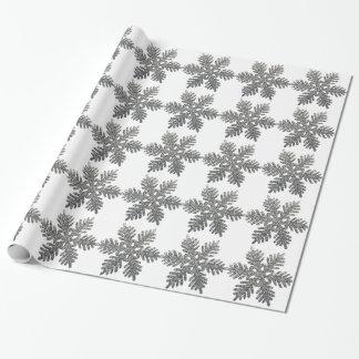 Decoración de plata del navidad de la escama de la papel de regalo