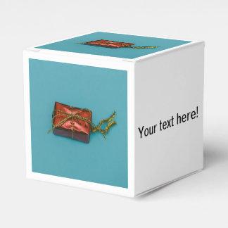 Decoración del árbol del regalo del navidad caja para regalos