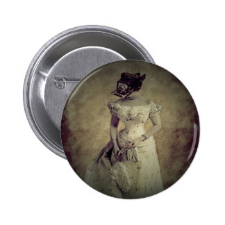 Decoración del arte de Woman&Camera del vintage Pin