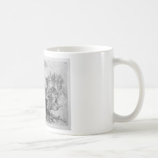 Decoración del capricho, un grupo de ruinas taza de café