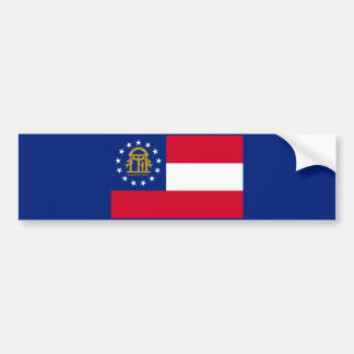 Decoración del diseño de la bandera del estado de pegatina para auto